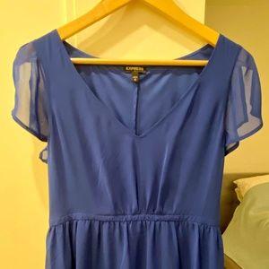 Express Blue mini dress